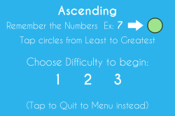 Ascending Instructions